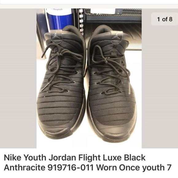 0a4f405f8bc Jordan Shoes | Flight Luxe Black Antracite Youth 7 | Poshmark